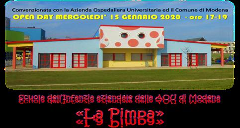 Scuola di infanzia La Pimpa di Baggiovara: bando di iscrizione