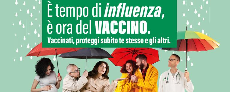 È tempo di influenza, è ora del vaccino