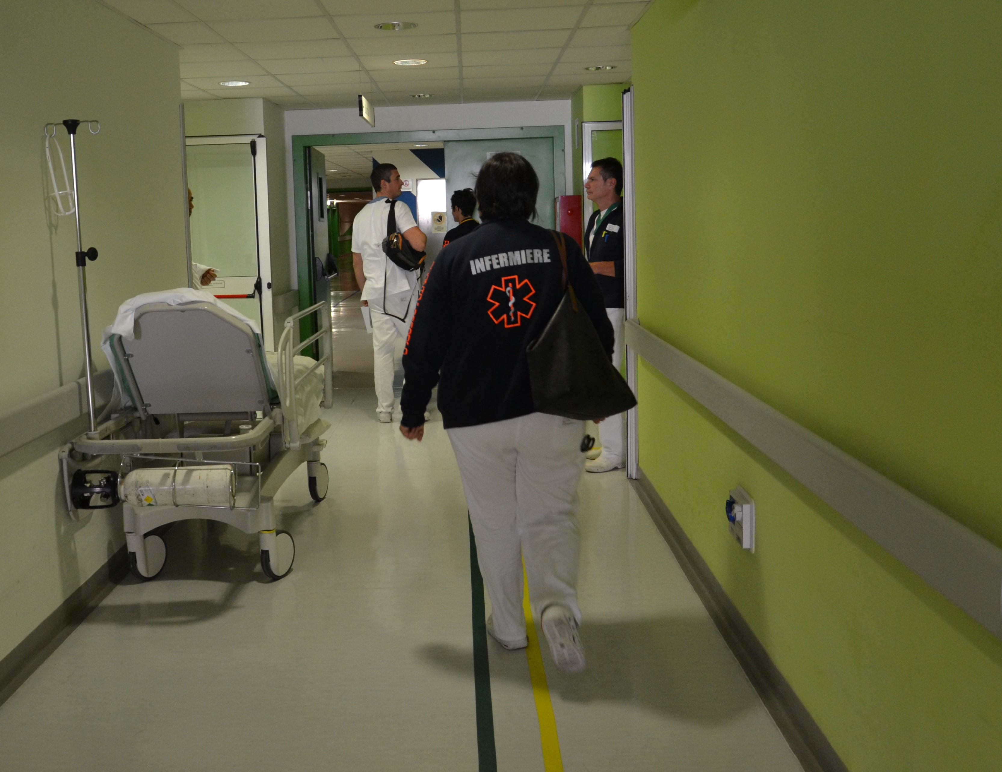 Il Pronto Soccorso dell'Ospedale Civile
