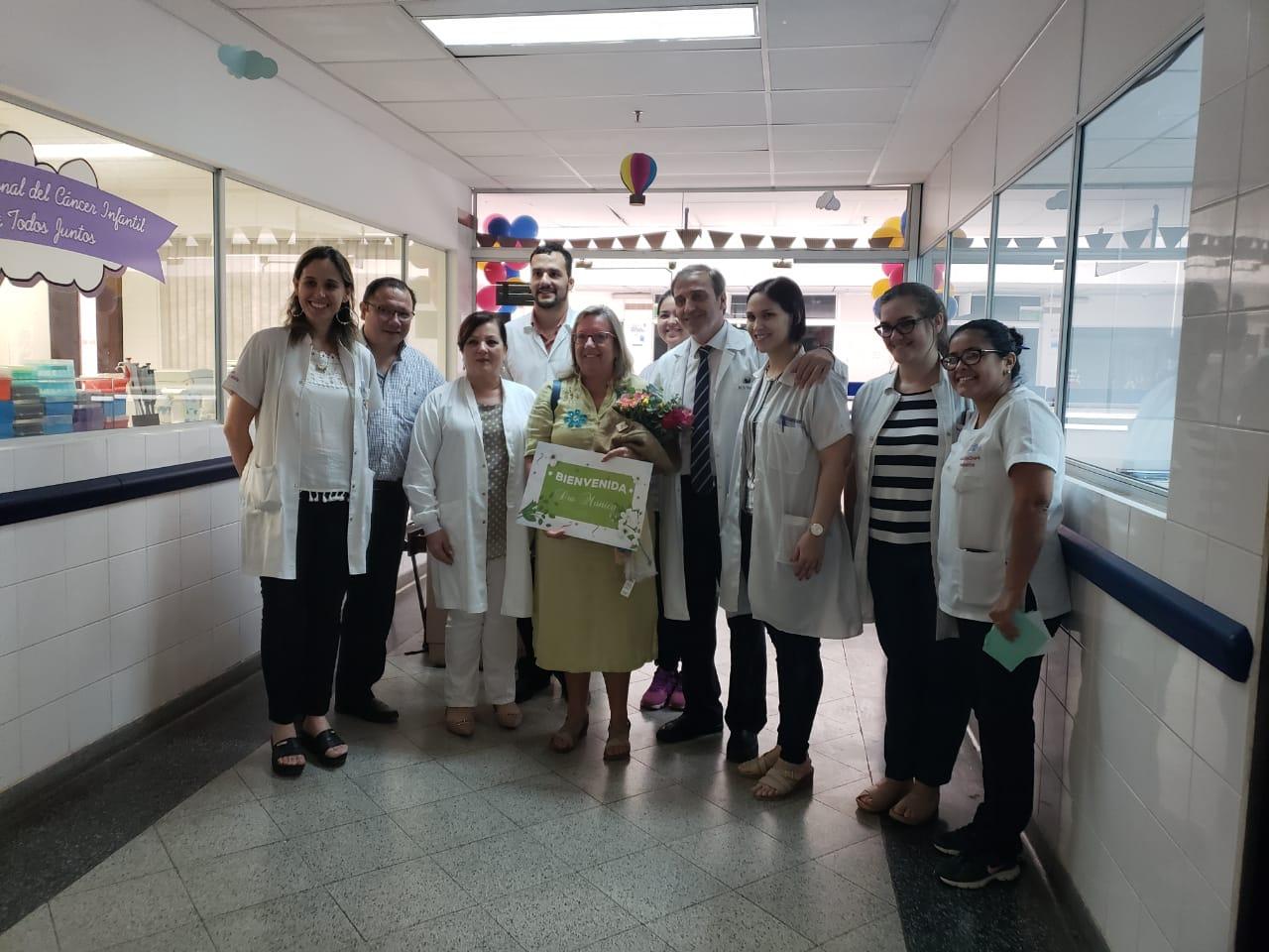 L'Oncologia Pediatrica del Policlinico in Paraguay