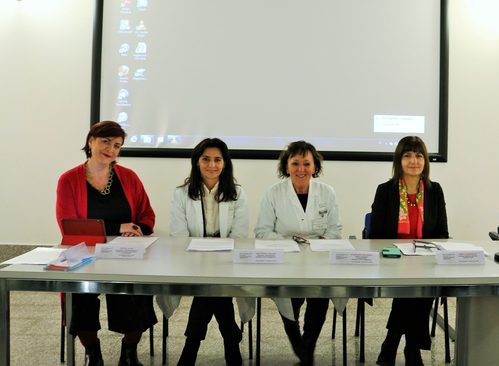Da sinistra: Raffaella Iuvara, Maria Cristina Soccorsi, Elisabetta Bertellini, Elda Longhitano