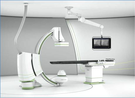 Il rendering dell'Angiografo