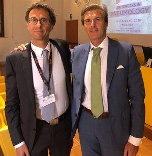 da sinistra: Alexandre Demoule ed Enrico Clini