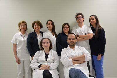 Il gruppo fegato della Gastroenterologia del Policlinico