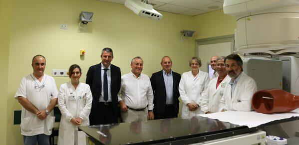 Il gruppo dei medici e dei donatori