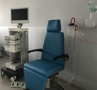 Un particolare dell'ambulatorio