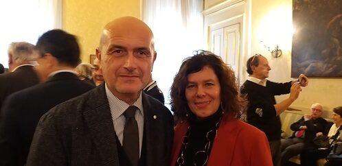 Lorenzo Broccoli e Sabrina Amerio