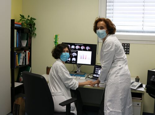 Dottoressa Annalisa Chiari e Giovanna Zamboni