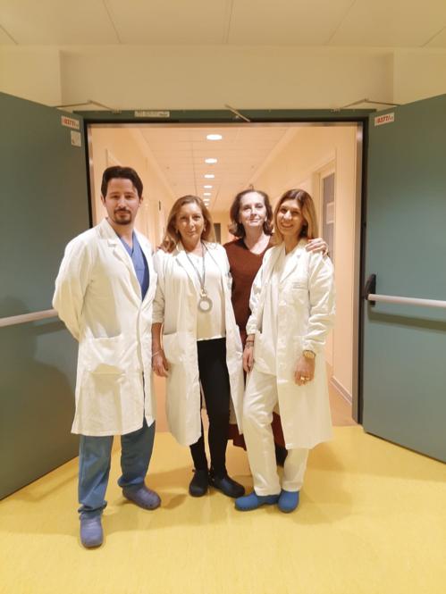 Giovanni Rolando, Roberta Gelmini, Erica Villa, Angela Bertani