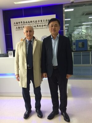 Livio Presutti e Hao Wu