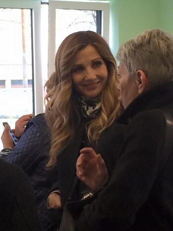Lorella Cuccarini, Madrina della cerimonia (Foto ASEOP)