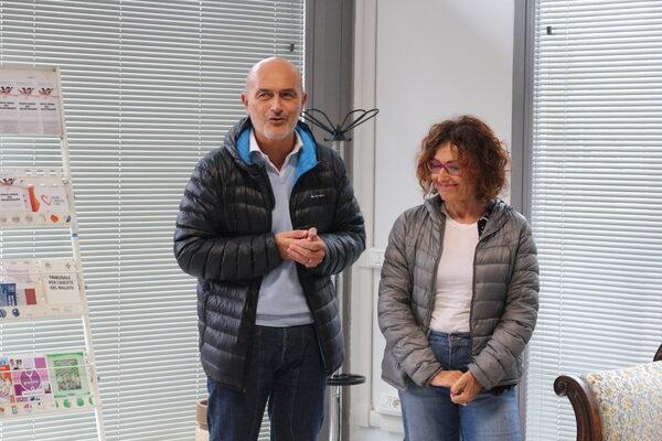 Lorenzo Broccoli e Maurizia Gherardi