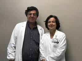 Giovanni Battista Ceccherelli e Donatella Venturelli