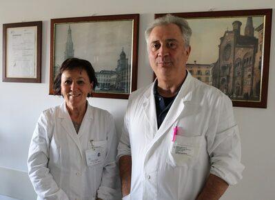 Elisabetta Bertellini e Lucio Brugioni