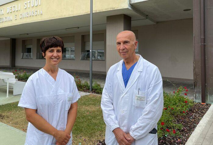 Giovanna Sighinolfi e Giovanni Tazzioli