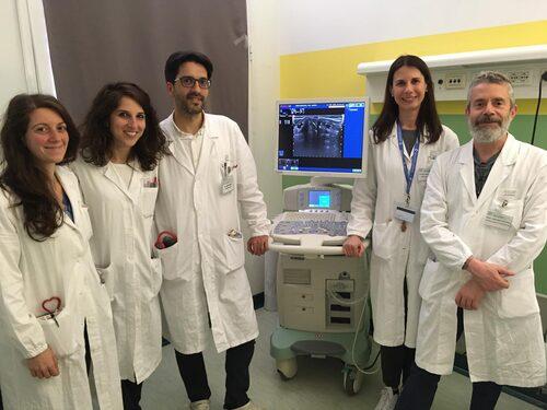 I team dell'Endocrinologia che ha svolto lo studio