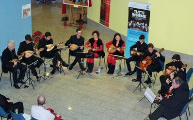L'esibizione dell'Ensemble