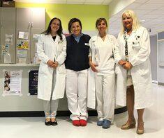 da sinistra Diana Ferraro, Francesca Prompicai, Francesca Vietta, Patrizia Sola