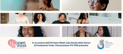 Sindrome premestruale e disturbo disforico: Open Week al Policlinico di Modena