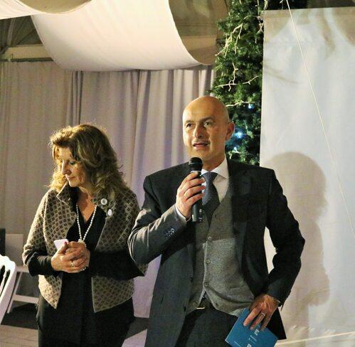 Da sinistra Rita Luisa Conigliaro e Lorenzo Broccoli