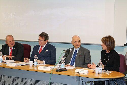 Ivan Trenti, Gian Carlo Muzzarelli, Andrea Cossarizza, Gabriela Sangiorgi