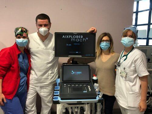 Un nuovo ecografo per la Gastroenterologia del Policlinico di Modena