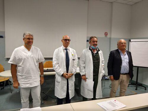 Giuseppe Pezzuto, Stefano Panareo, Claudio Vagnini, Giorgio De Santis