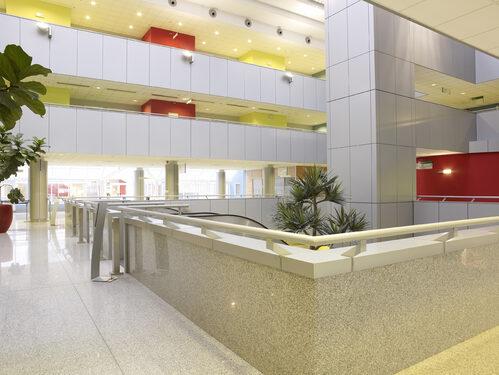 La Hall dell'Ospedale Civile