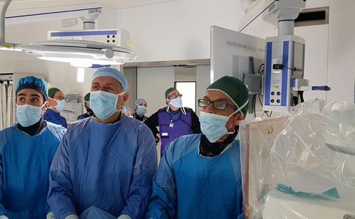 L'Equipe di Chirurgia Vascolare