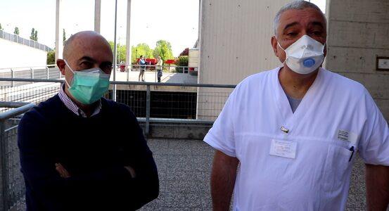 Antonio Luciani e Geminiano Bandiera