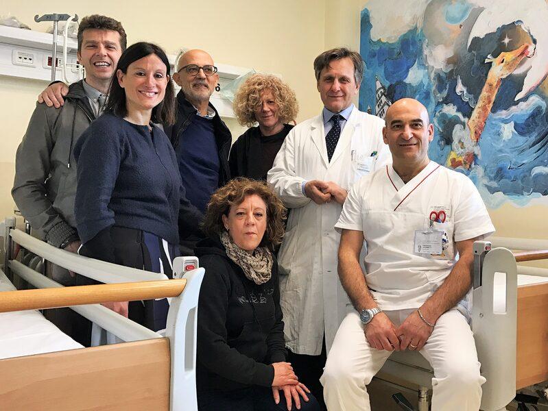 Da Sinistra: Nicola Guaraldi, Elena Tassi, Bruno Mordini, Dori Giorgiani, Mapi Federici, Lorenzo Iughetti, Francesco Allegretti